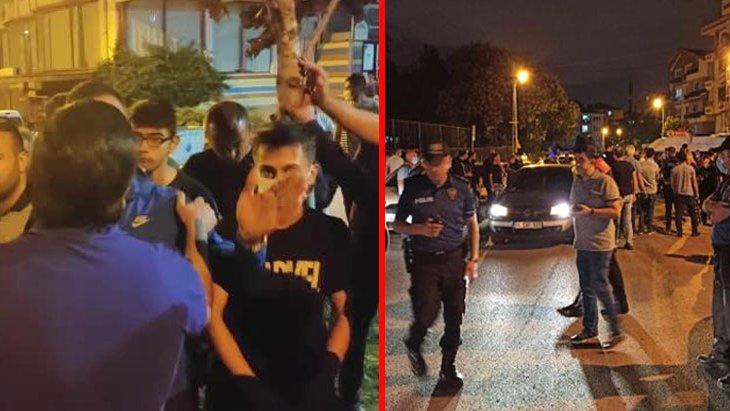 Ankara'da yabancı uyruklu grubun iki Türk gencini bıçaklaması üzerine mahalleli sokağa döküldü