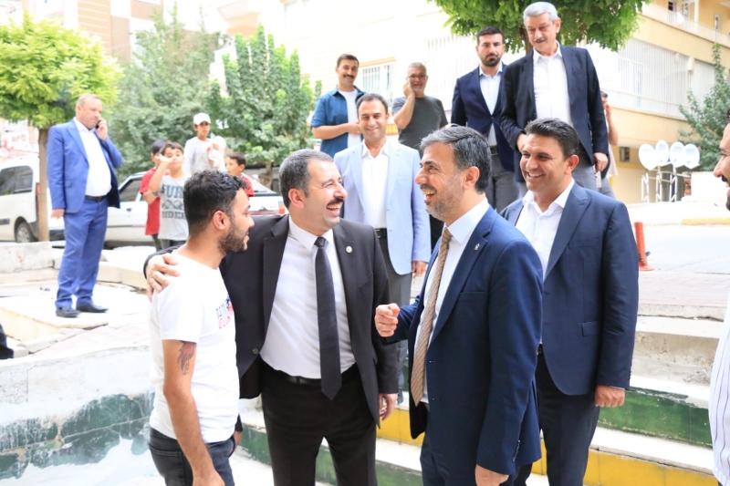 Başkan Kırıkçı ve Teşkilatından Karaköprü'ye Çıkarma
