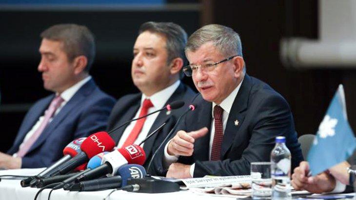 Kürt sorunu tartışmalarına Davutoğlu'ndan dikkat çeken yorum: Sadece HDP'yi muhatap almak doğru olmaz