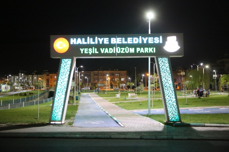 """MUHTARLARDAN BAŞKAN CANPOLAT'A """"GÜVENLİ PARK"""" TEŞEKKÜRÜ"""