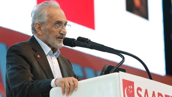 Saadet Partisi Yüksek İstişare Kurulu Başkanı Oğuzhan Asiltürk yaşamını yitirdi