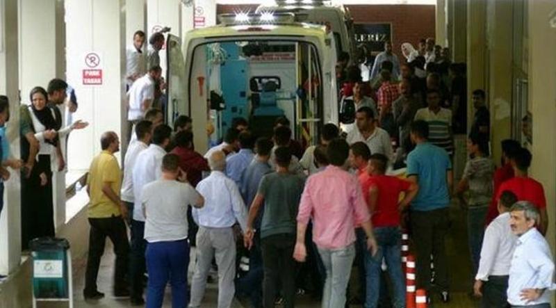 Şanlıurfa'nın Suruç ilçesinde otomobile silahlı saldırı