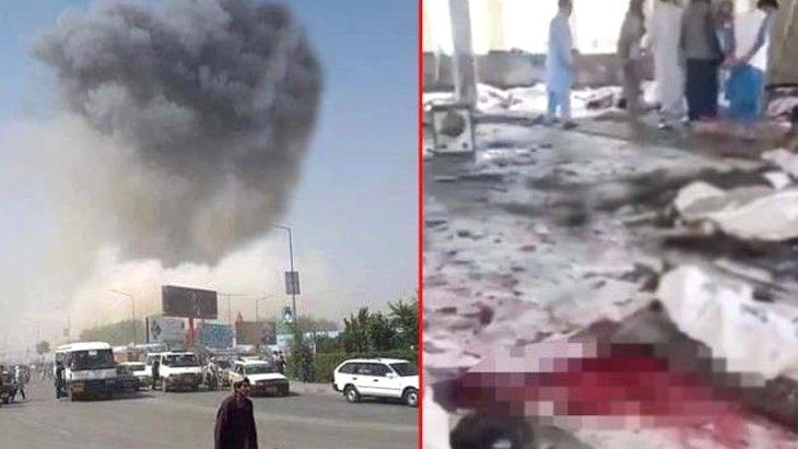 Son Dakika! Afganistan'da cuma namazı esnasında bir camiye bombalı saldırı düzenlendi: 50 ölü, 90 yaralı